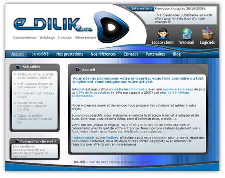e-dilik : agence de création de site internet